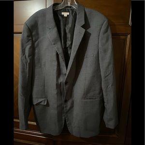 3/$10! Men's dark gray blazer Merona